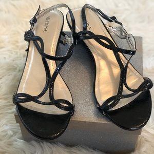 Merona | Black Sandals Size 10